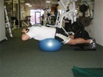 Reverse Hyperextension on a Ball